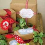 Fotos con ideas para envolver regalos navideños 11