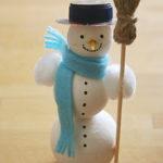 Manualidades navideñas | hacer un muñeco de nieve 1