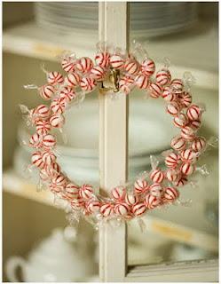 decorar con guirnalda con caramelos
