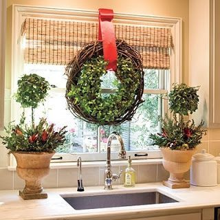 decorar navidad el baño