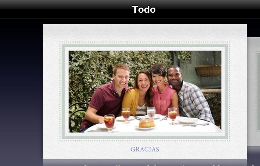 Personaliza tus postales navideñas desde tu dispositivo iOS