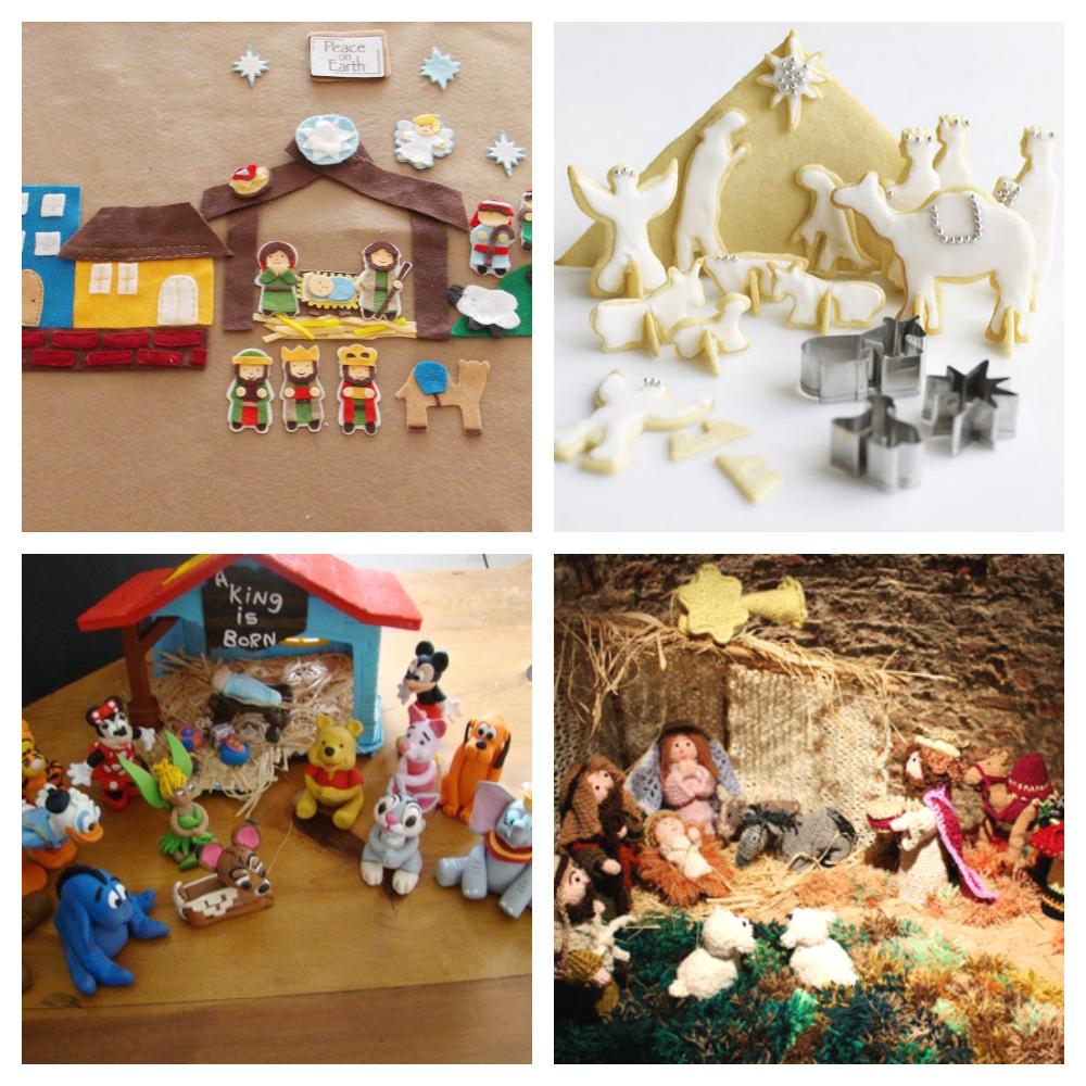 Fotos De Belenes Pequenos.Belenes Creativos Para Decorar Tu Navidad
