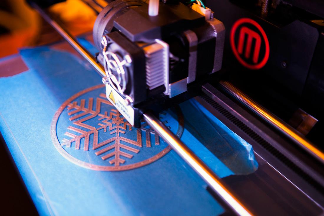 impresora 3D navidad