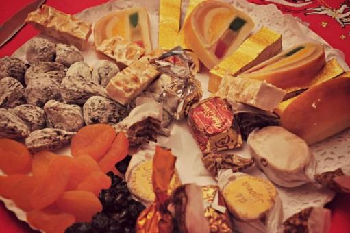 menu nochevieja 7 Turrones y otros dulces navideños
