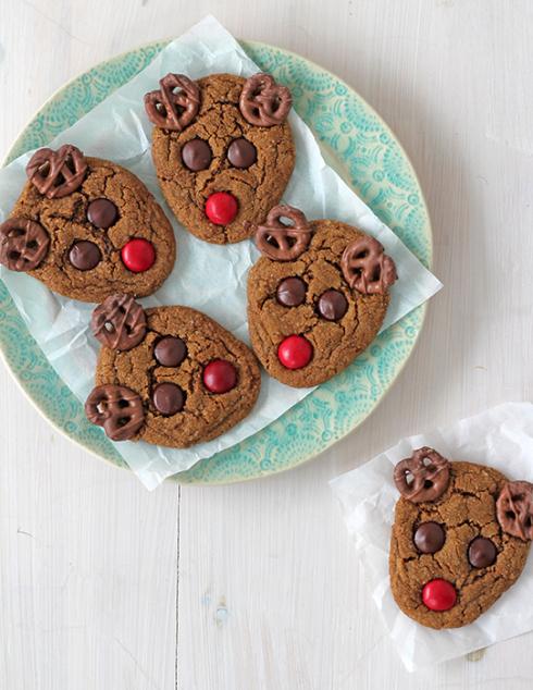 rudolf galletas de Navidad