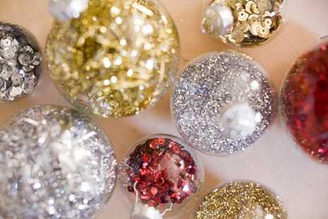 Ideas Para Renovar Las Esferas De Navidad