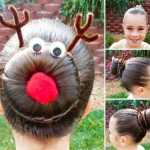 peinado navideño