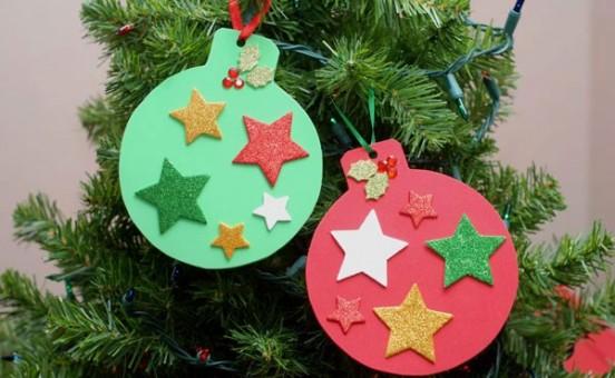 10 ideas para hacer manualidades navideñas 1