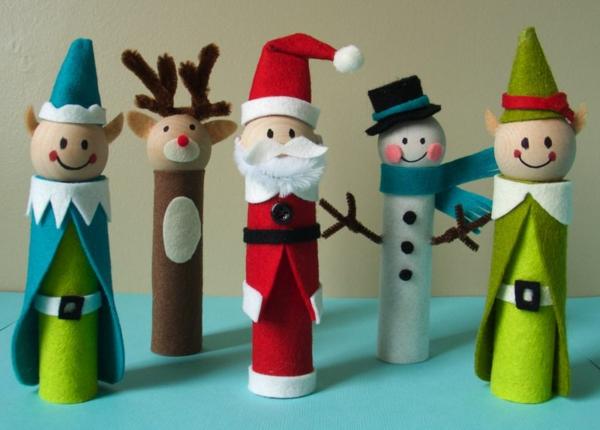 10 ideas para hacer manualidades navideñas 5
