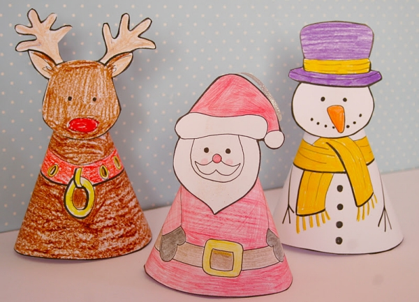 10 ideas para hacer manualidades navideñas 6