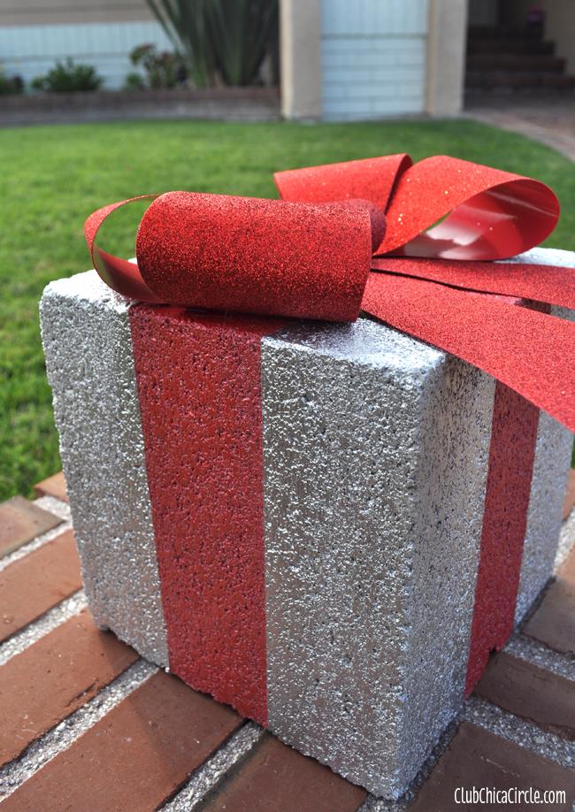 Decoraci n navide a muy original un regalo hecho de hormig n for Decoracion navidena original