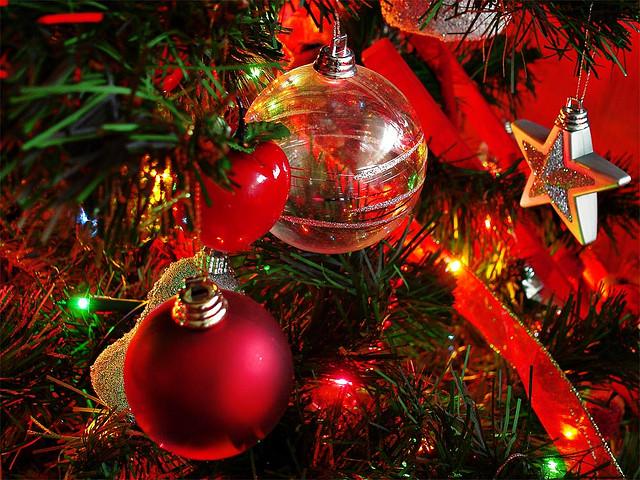 postal para felicitar la Navidad