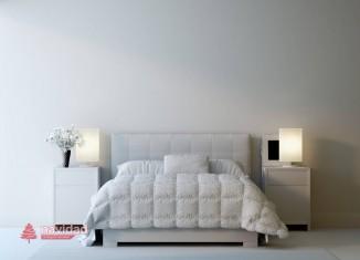 dormitorio Blanco y gris