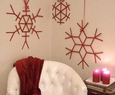 adornos de navidad con madera