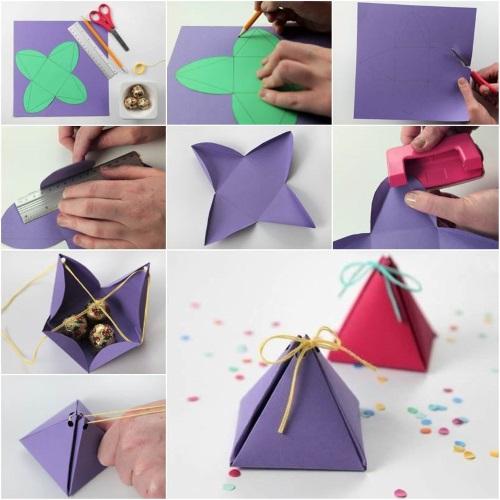 hacer cajitas de regalo