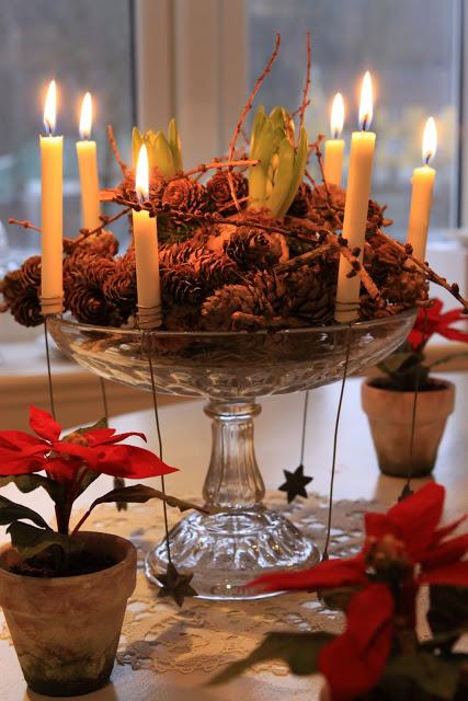 Original centro de mesa para navidad - Mesas para navidad decoracion ...