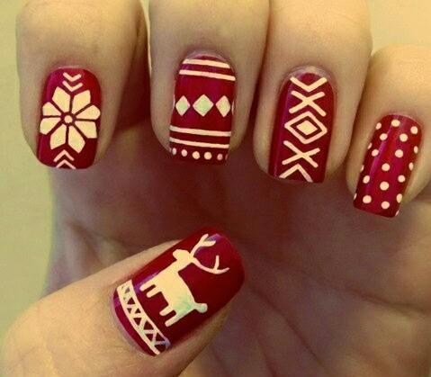 Christmas nail
