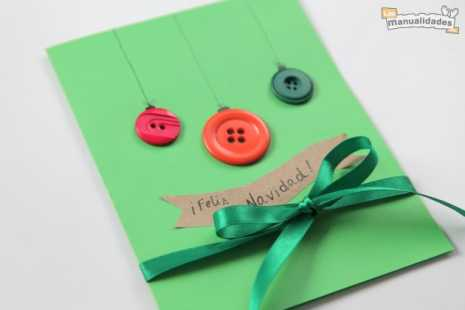 como hacer tarjetas navideñas