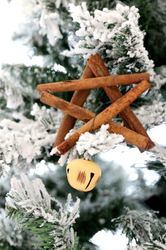 estrellas de canela para decorar