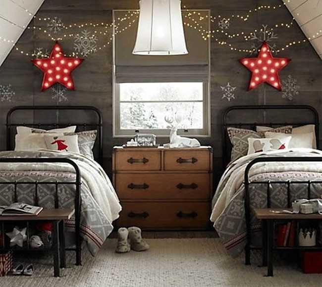 Habitaciones de navidad