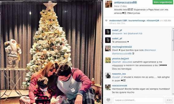 Navidad de Leo Messi