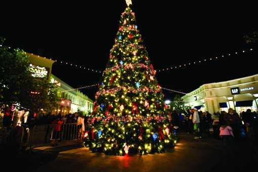Primer árbol de Navidad