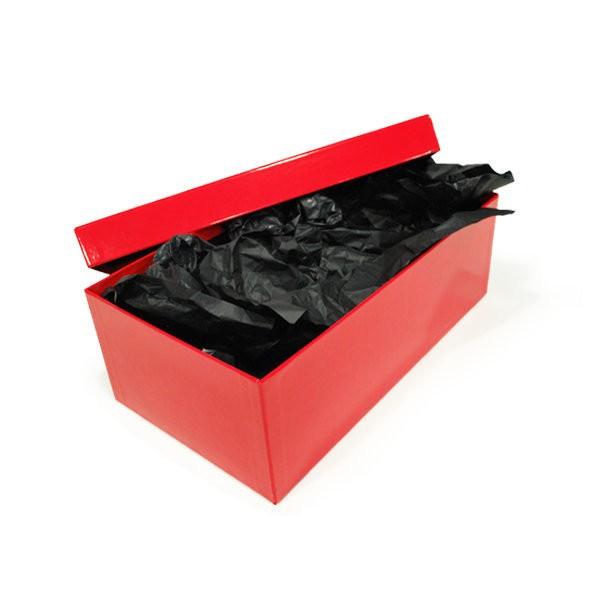 caja de regalo de navidad roja