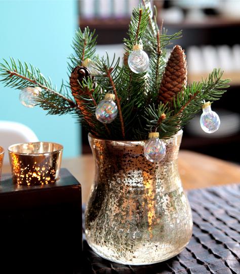 Centro de mesa para decorar estas Navidades 1