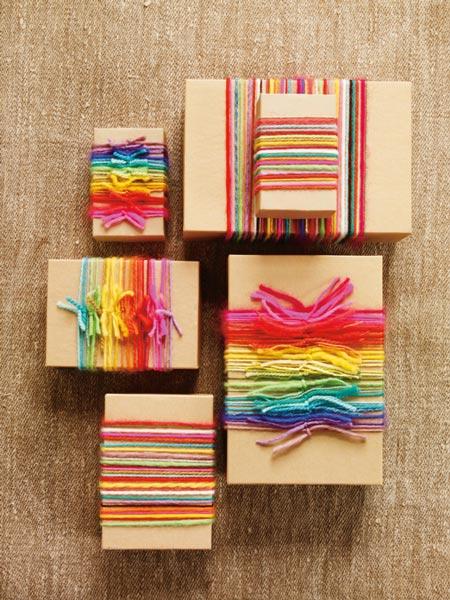 regalos con hilos de lana