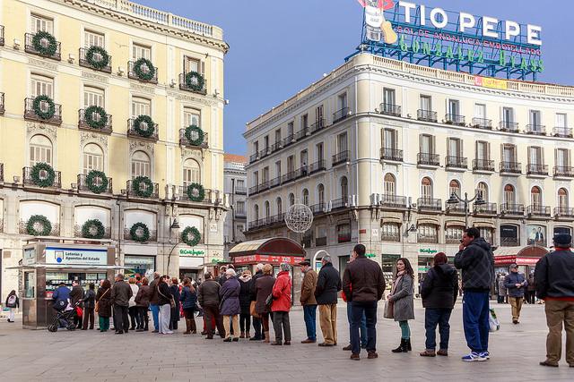 comprar la lotería en madrid