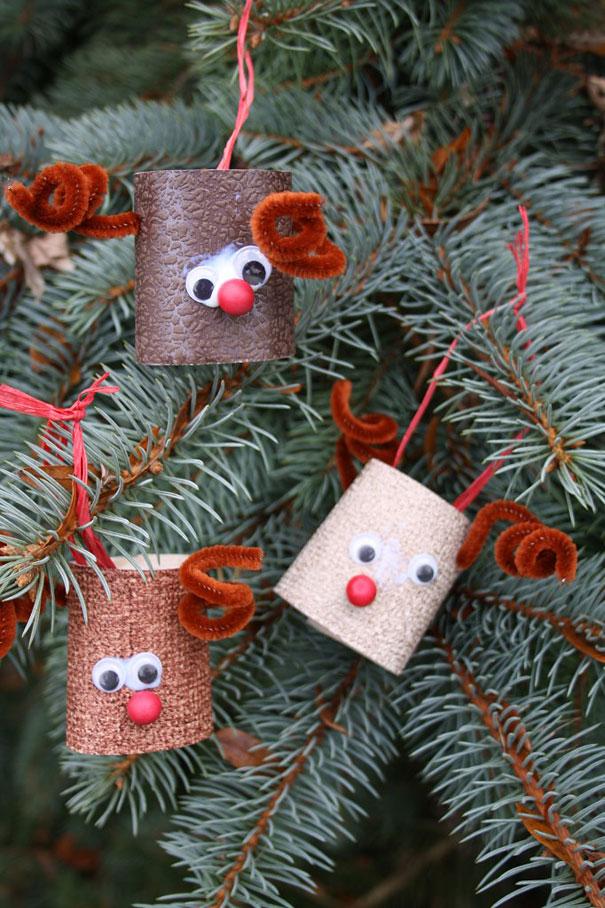 Ideas para decorar en Navidad Rudolf