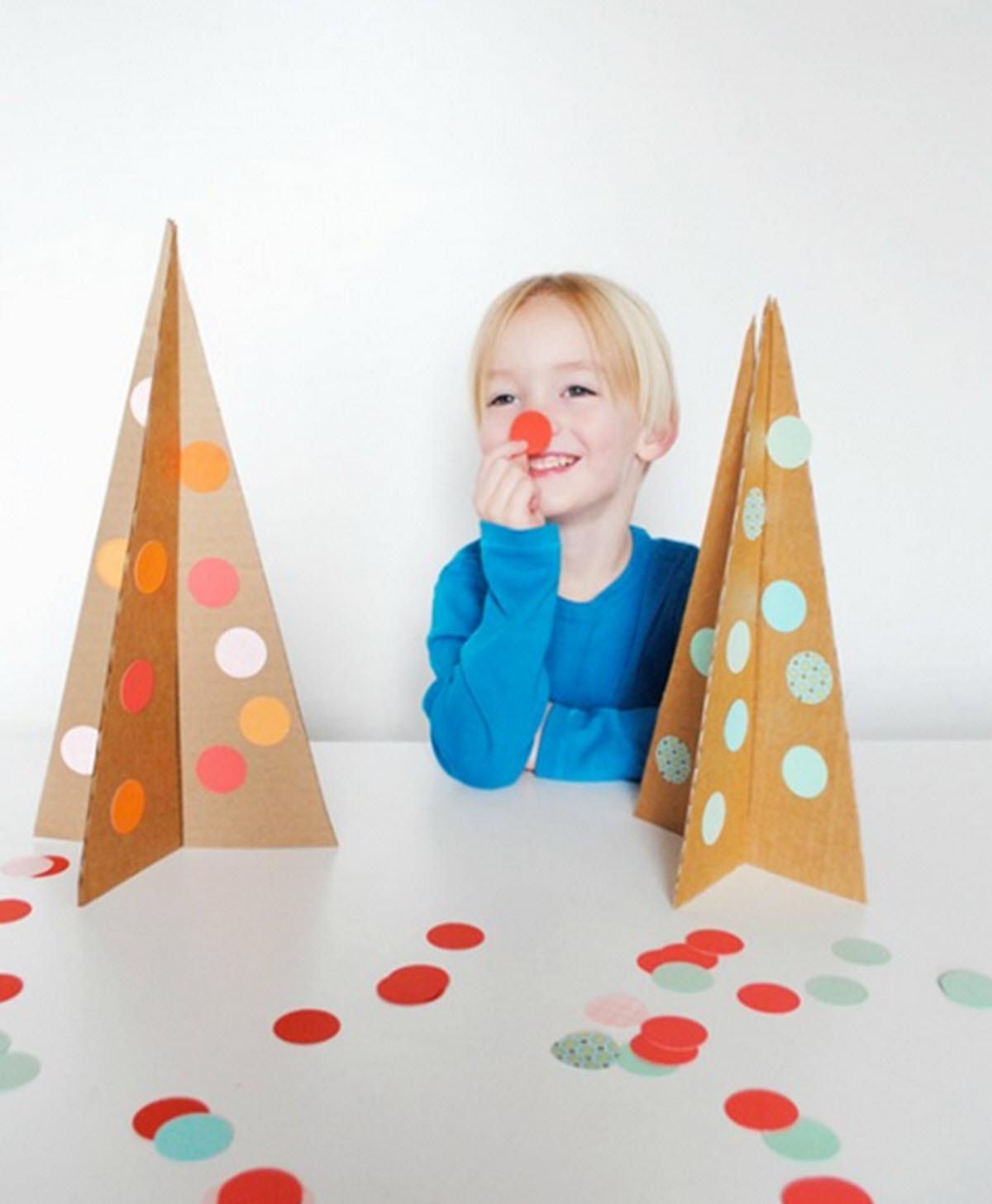 manualidades infantiles navideñas