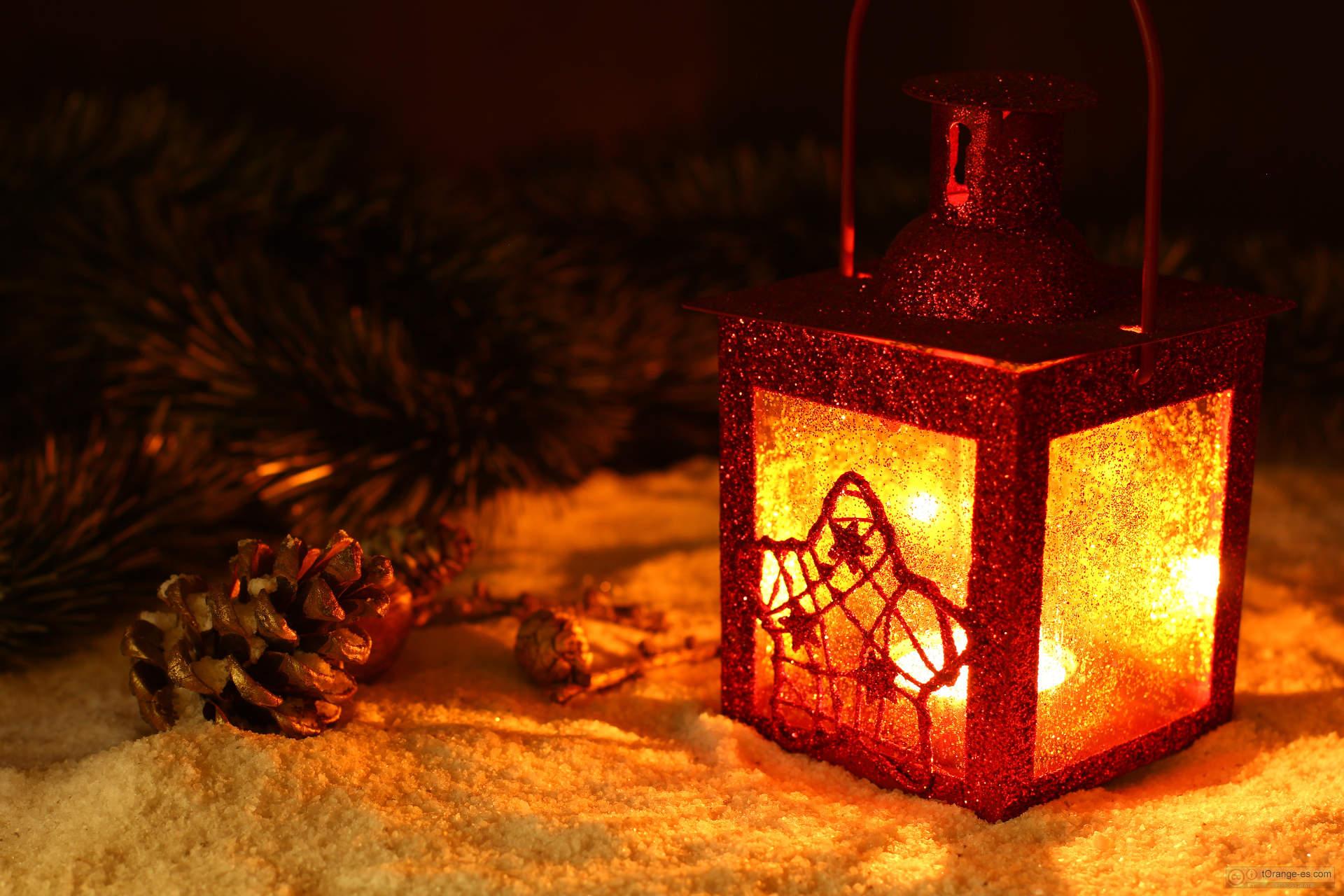 Farol navideño