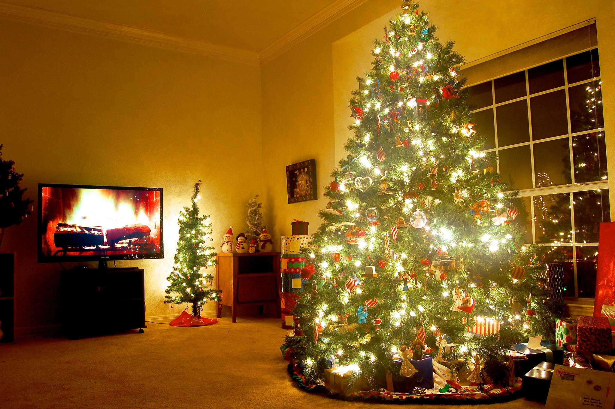 Donde se pone el arbol de navidad