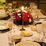 Decorar la mesa el día de Reyes