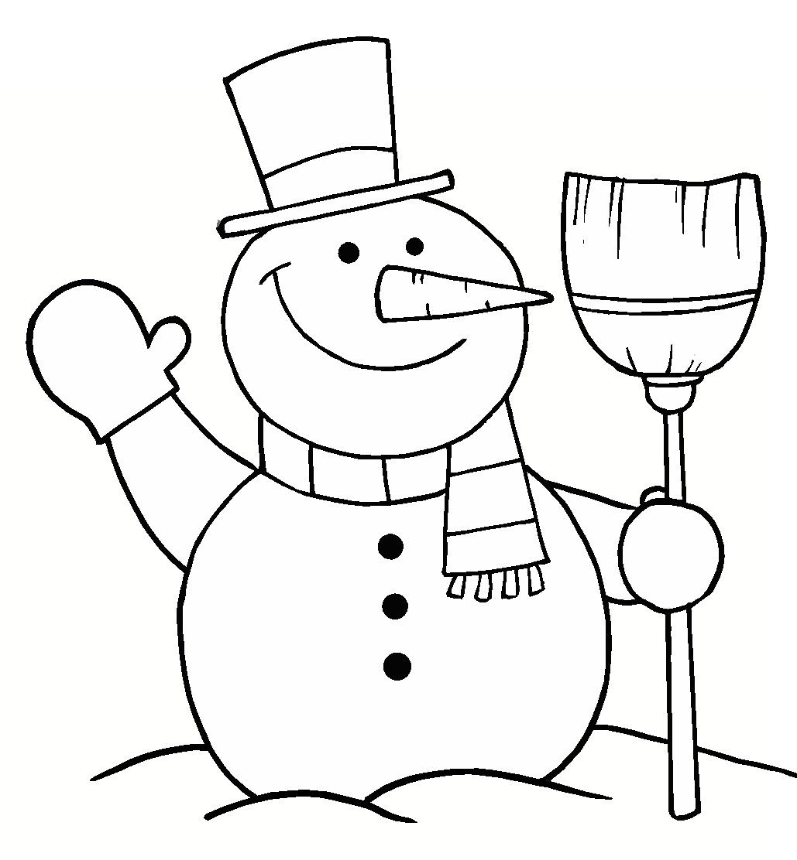 Más de 10 dibujos de Navidad para colorear