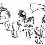 Dibujos de Reyes Magos