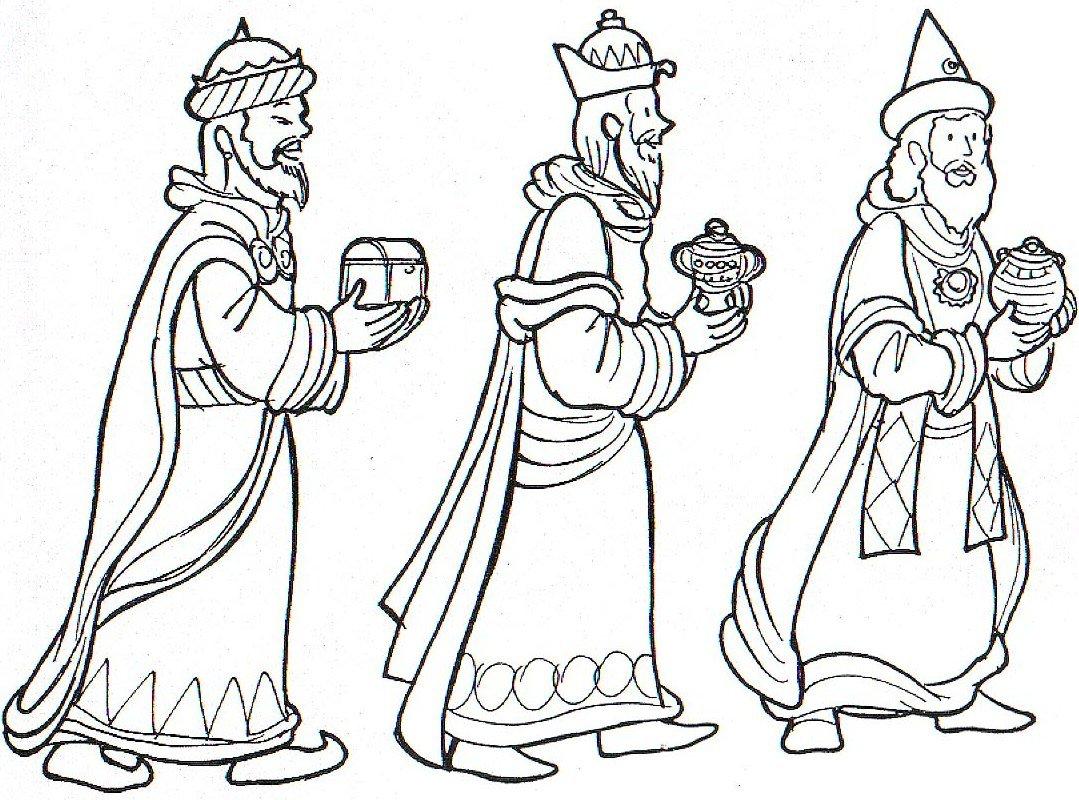 Aprende cómo dibujar a los Reyes Magos paso a paso