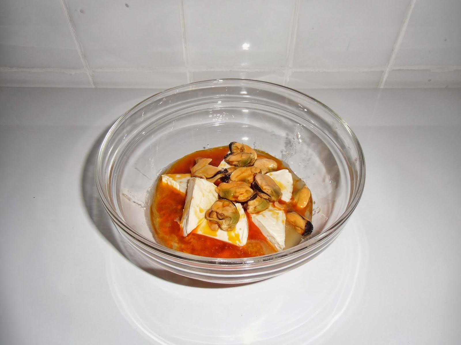 Paté de atún y mejillones