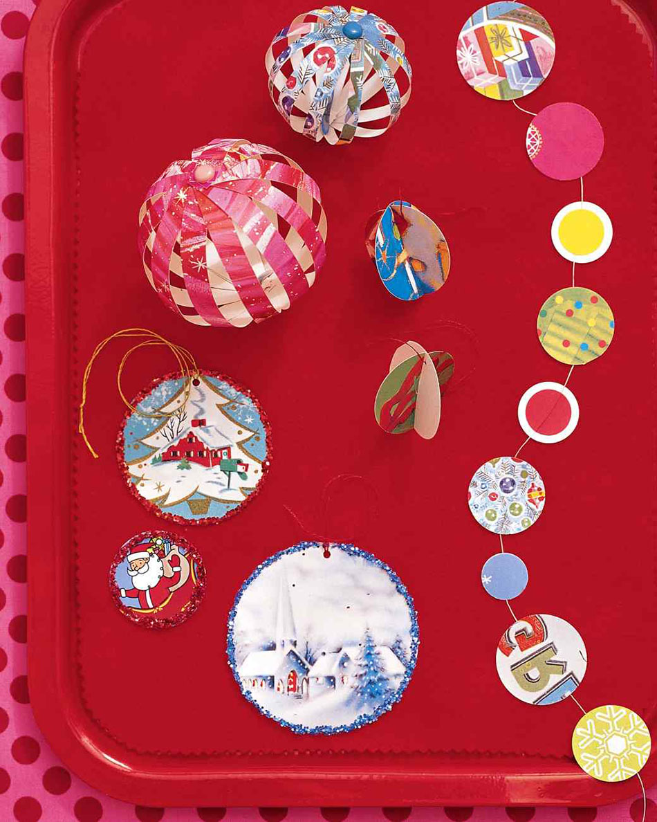 adornos navideños caseros adornos reciclados