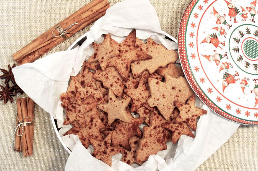 hacer galletas de Navidad conservar galletas