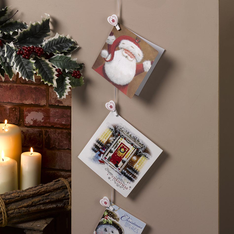 tarjetas de Navidad 2016 decora con tarjetas