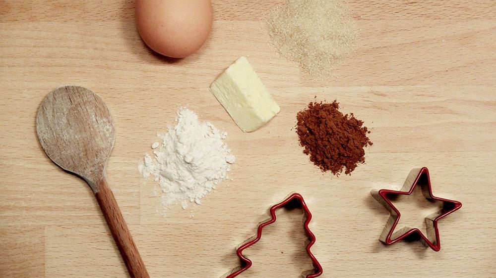 hacer galletas de Navidad galletas ingredientes