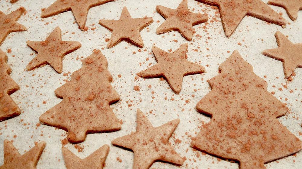 hacer galletas de Navidad galletas para hornear