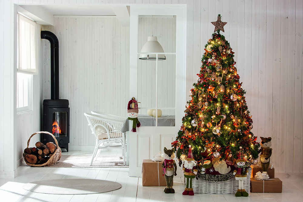 decorar el árbol de Navidad leroy merlin arbol