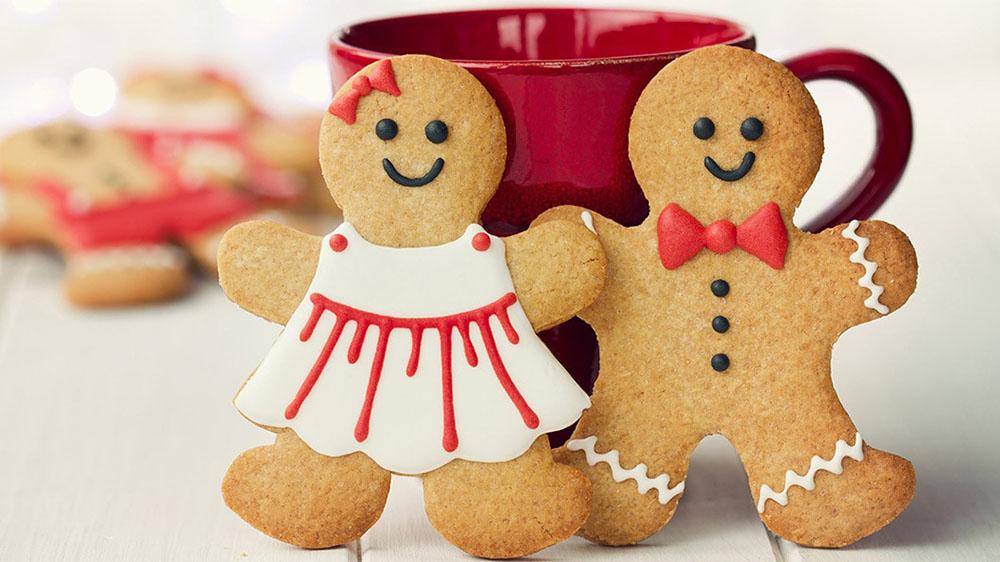 hacer galletas de Navidad munecos galletas decoradas