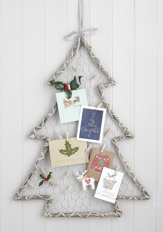 tarjetas de Navidad 2016 soporte de arbol