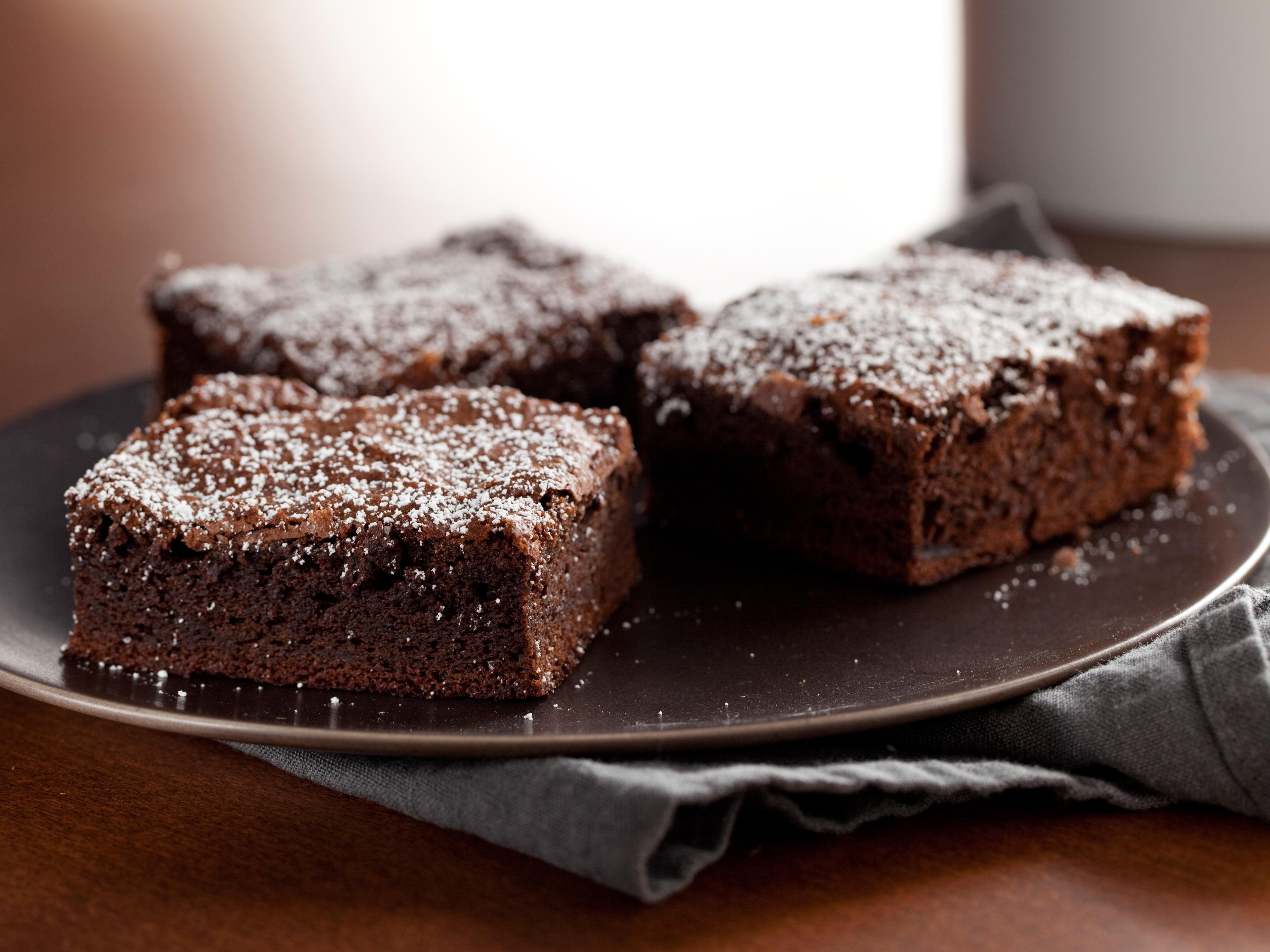 Brownie de turrón