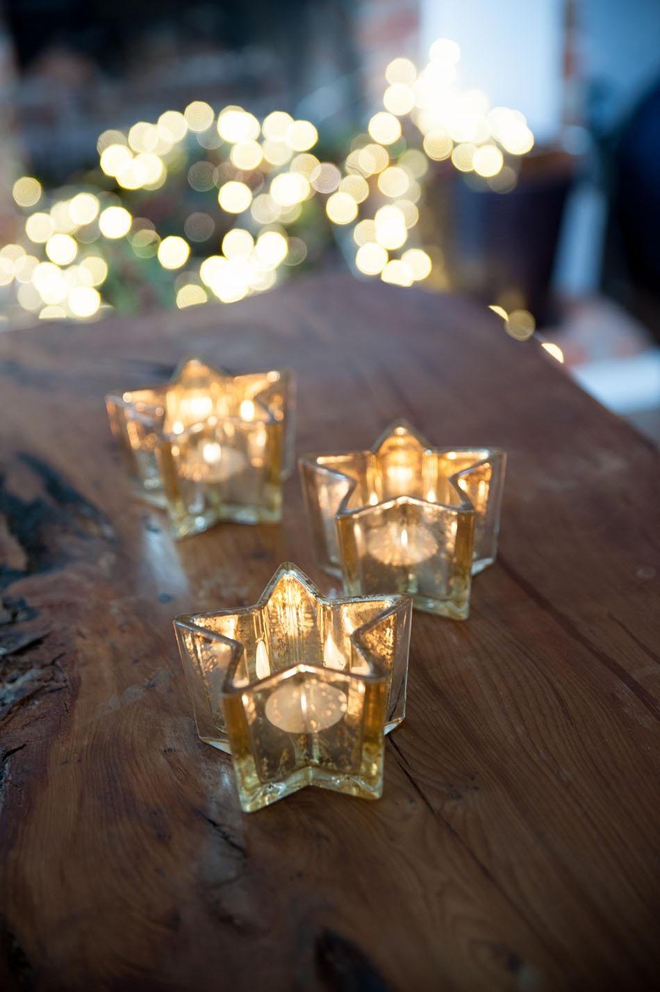 originales luces de Navidad - luces de Navidad TCH estrellas