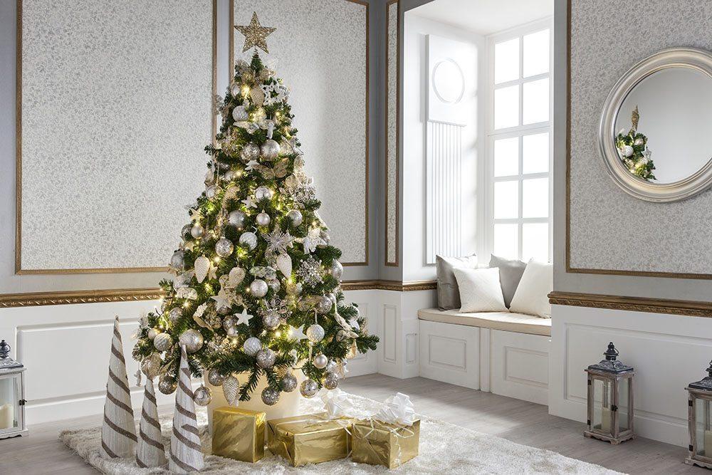 arbol ahorrar en las compras navidenas lm